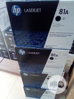 HP 81A Laserjet Toner | Accessories & Supplies for Electronics for sale in Lagos State, Apapa