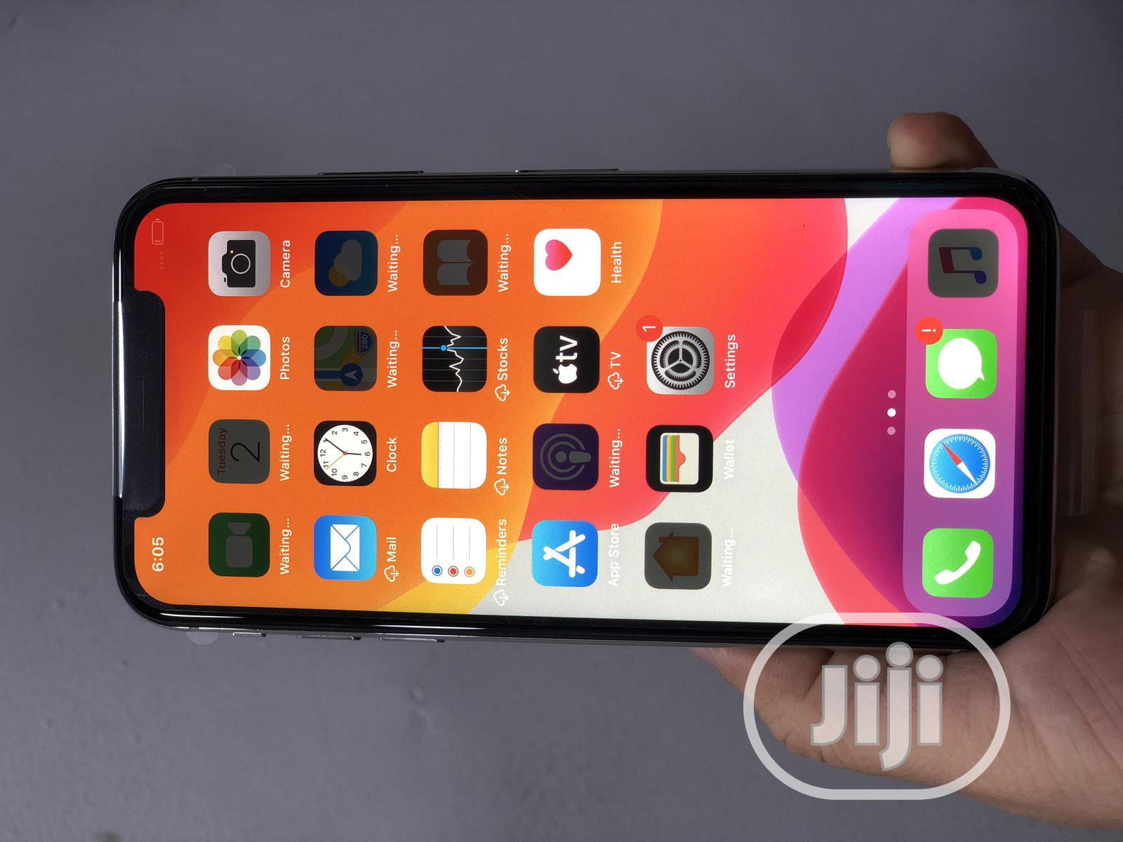 Apple iPhone X 256 GB Silver   Mobile Phones for sale in Ikeja, Lagos State, Nigeria