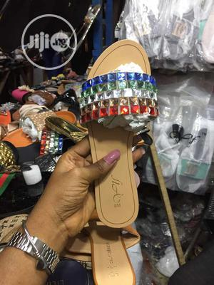 Ladies Fancy Palm Slippers | Shoes for sale in Lagos State, Lagos Island (Eko)