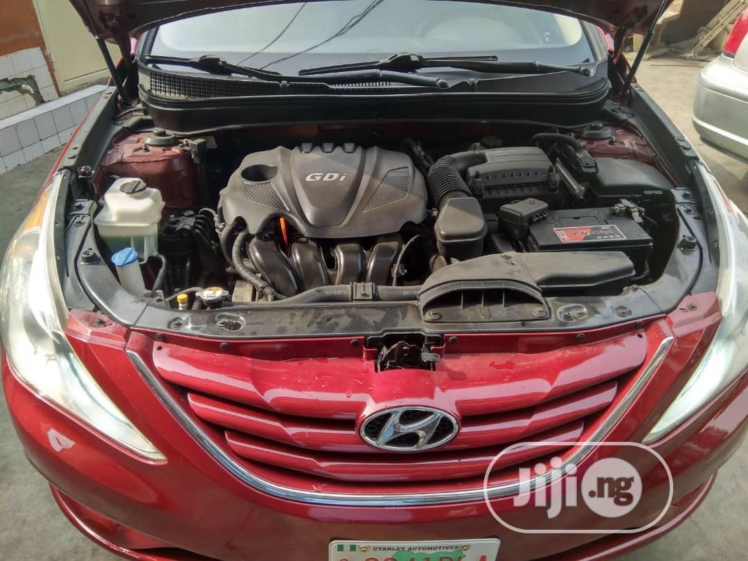 Hyundai Sonata 2013 Red | Cars for sale in Magodo, Lagos State, Nigeria
