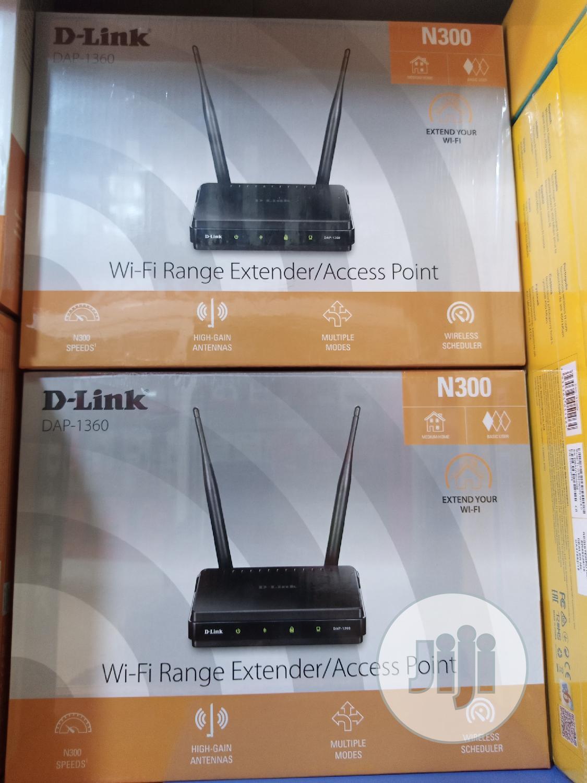 N300 Wi-Fi Range Extender/Access Point