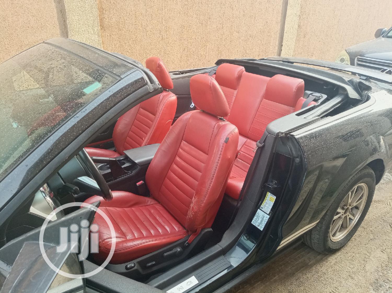 Ford Mustang 2006 V6 Premium Convertible Black