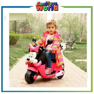 Mickey Mouse Cartoon Three Wheel Kids Electric Motorcycle (   Toys for sale in Lagos State, Surulere