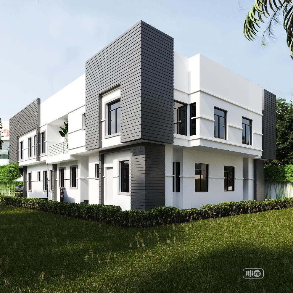 New 4 Bedroom Semi Detached Duplex With Bq at Ogudu for Sale