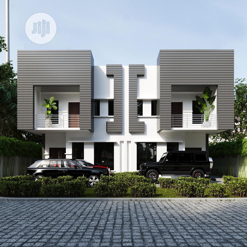 New 4 Bedroom Semi Detached Duplex With Bq at Ogudu for Sale