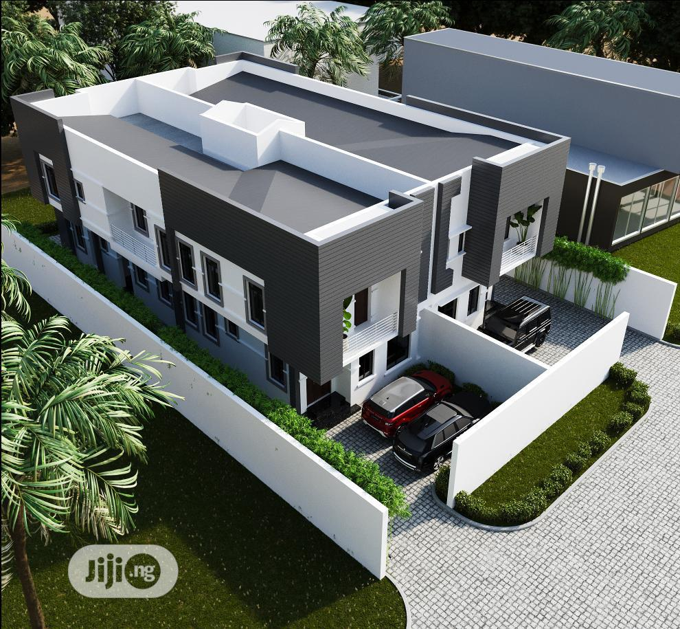 New 4 Bedroom Semi Detached Duplex With Bq at Ogudu for Sale   Houses & Apartments For Sale for sale in Ogudu GRA, Ogudu, Nigeria