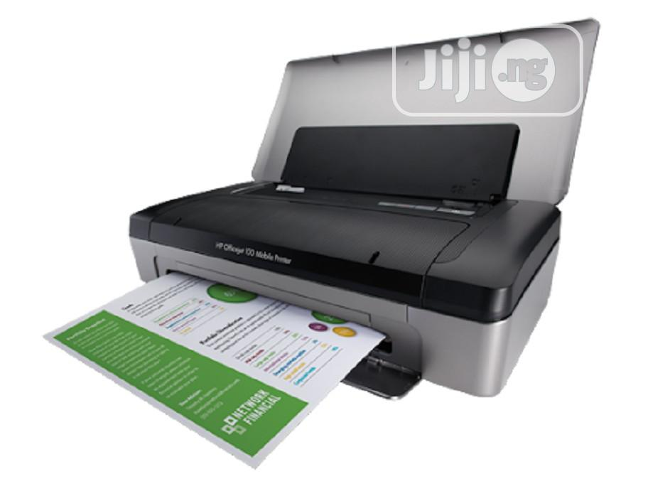HP Officejet 100 Portable Printer With Bluetooth Mobile