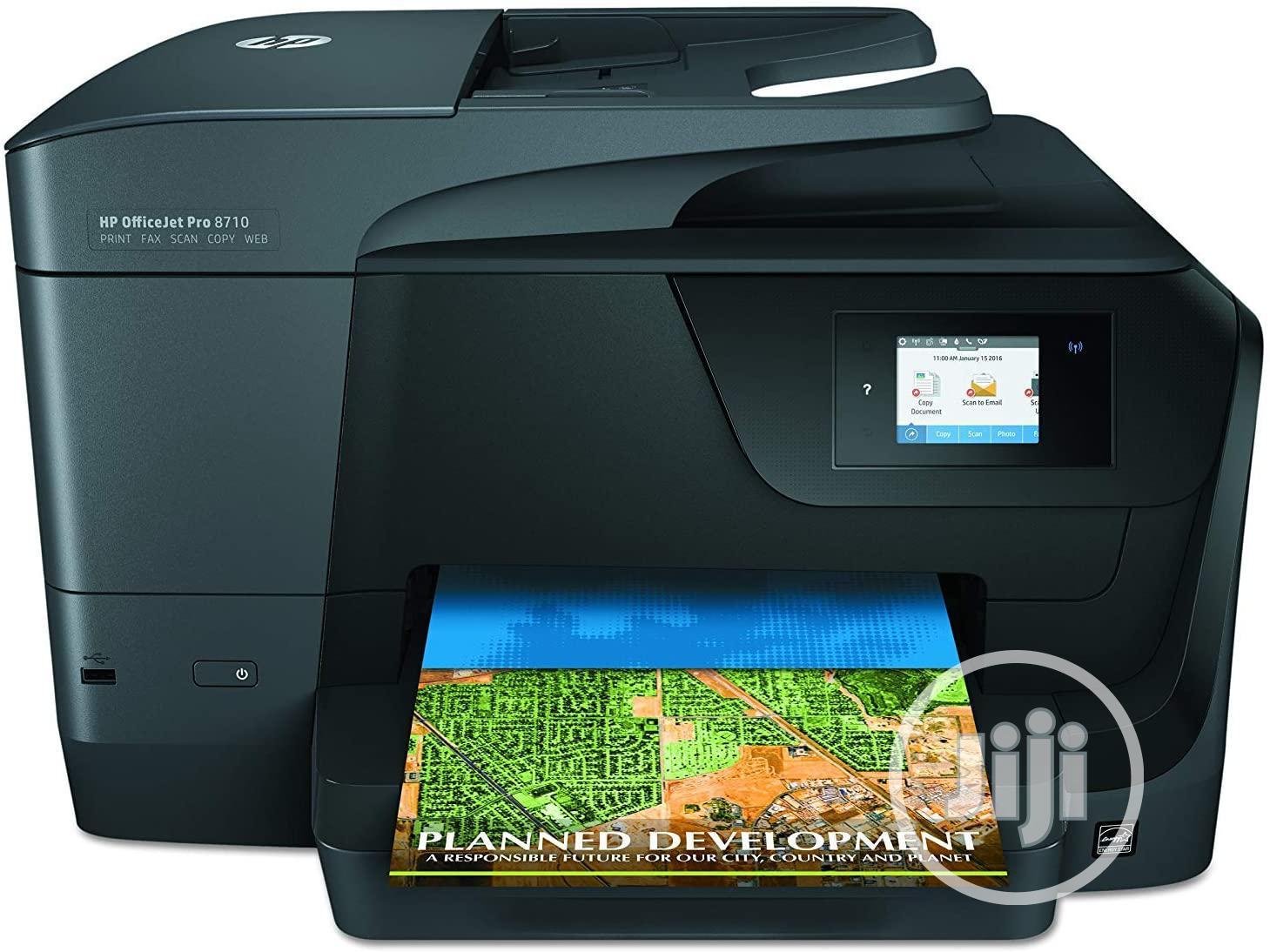 HP Officejet Pro 8710 Wireless Print Scan