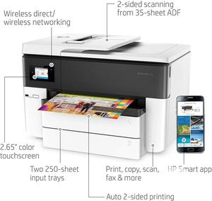 HP Officejet Pro 7740 Wireless All-In-One Printer | Printers & Scanners for sale in Lagos State, Ikeja