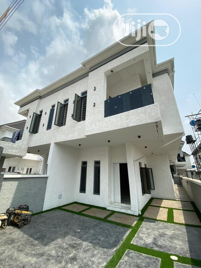 Newly Built 5bedroom Fully Detached Duplex With Bq