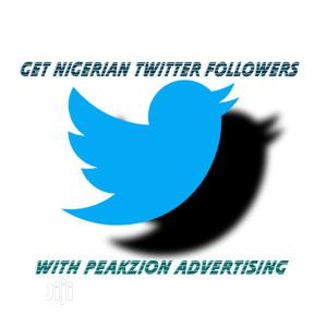 Get Nigerian Twitter Followers | Computer & IT Services for sale in Lagos State, Ikeja
