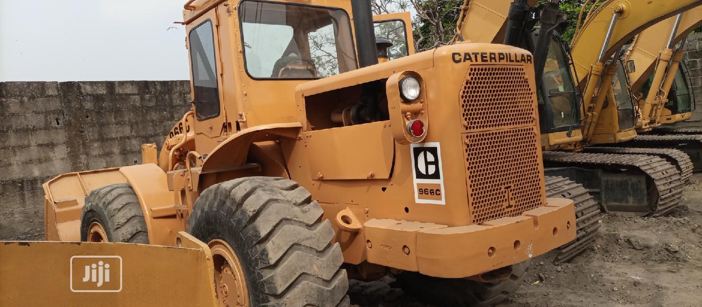 966C Cat Payloader