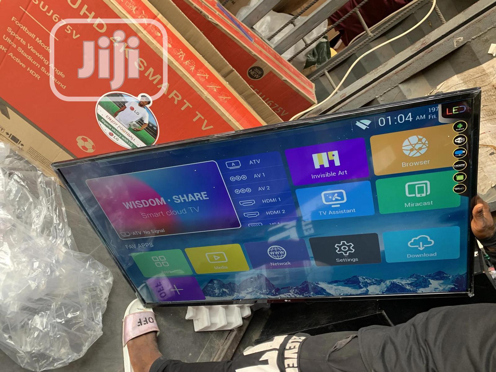 "55""Inches Smart LG Plasma Television"