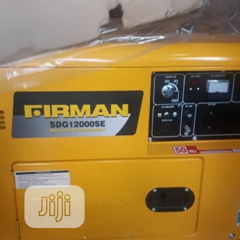 10kva Fireman DIESEL Silent Generator 100% Coppa Coil