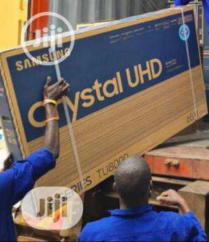 "2021>Samsung 65""Inch Crystal Uhd 4K( 65tu8000) Series 8 + | TV & DVD Equipment for sale in Lagos State, Ojo"