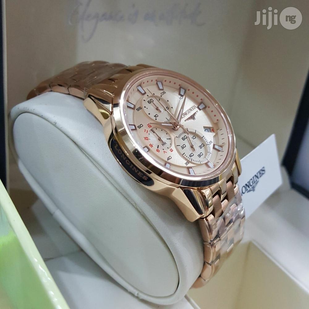 Archive: Longines Chronograph Chain Wristwatch