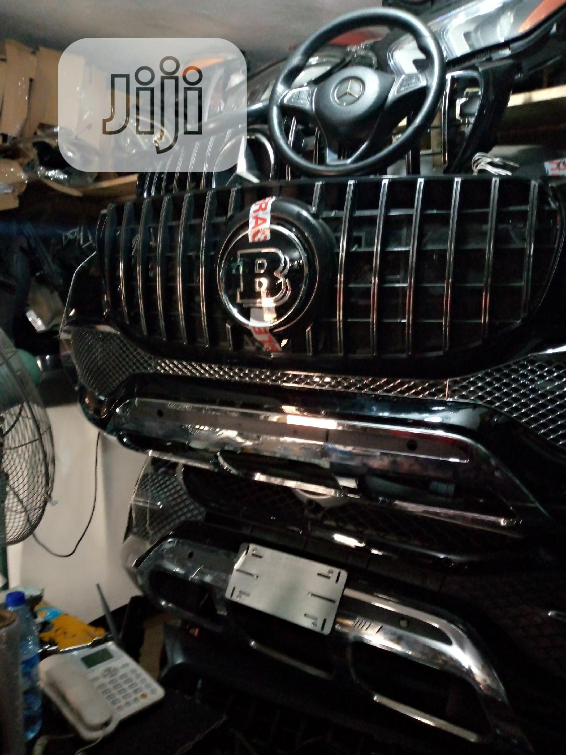 All Accessories for Benz Both Front Grill and Side Mirror