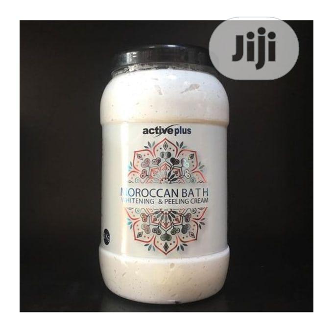 Active Plus Moroccan Whitening and Peeling Cream