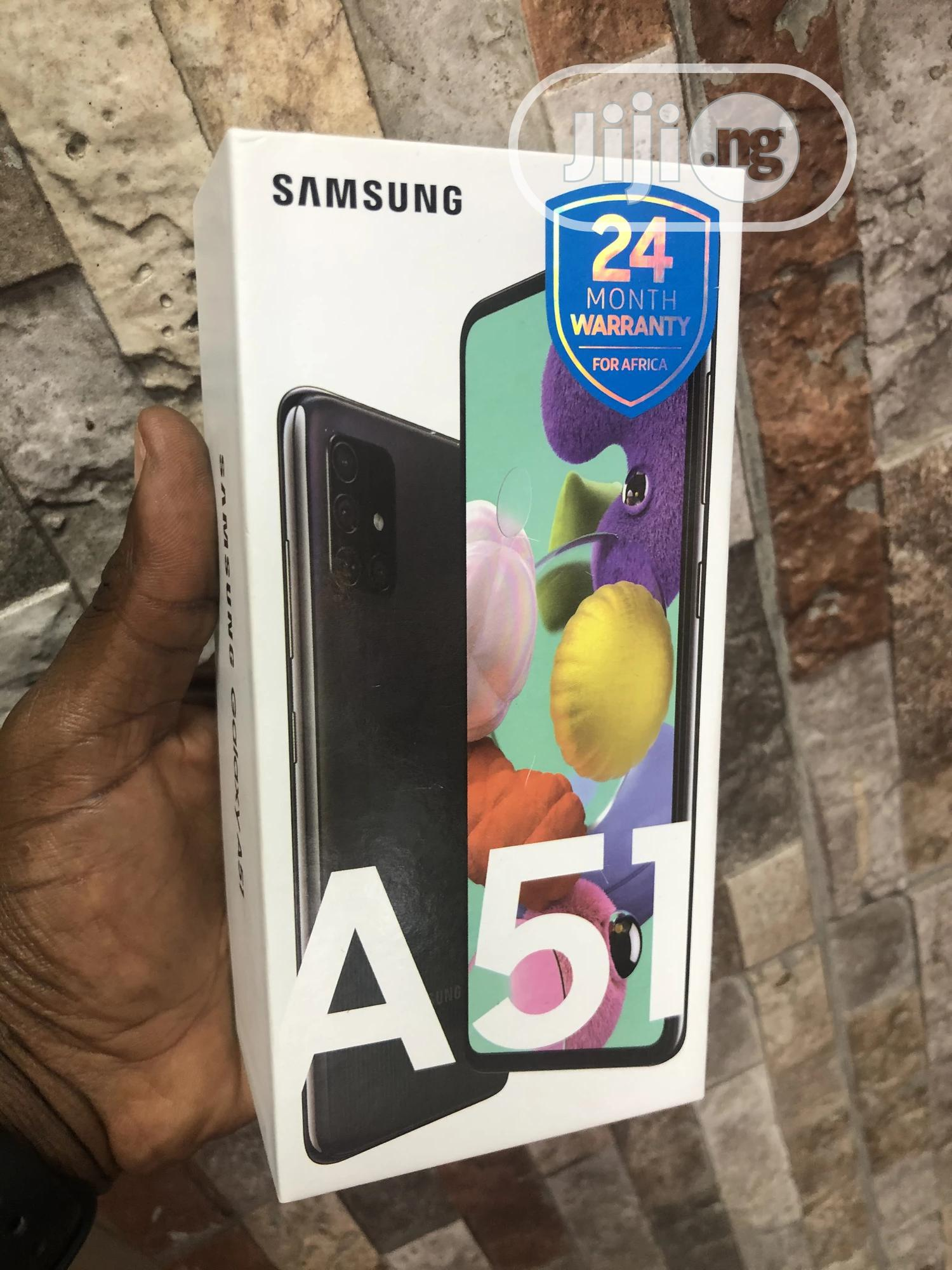 New Samsung Galaxy A51 128 GB Black