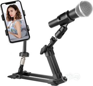 Adjustable Phone Ad Microphone Holder | Accessories & Supplies for Electronics for sale in Lagos State, Ikeja
