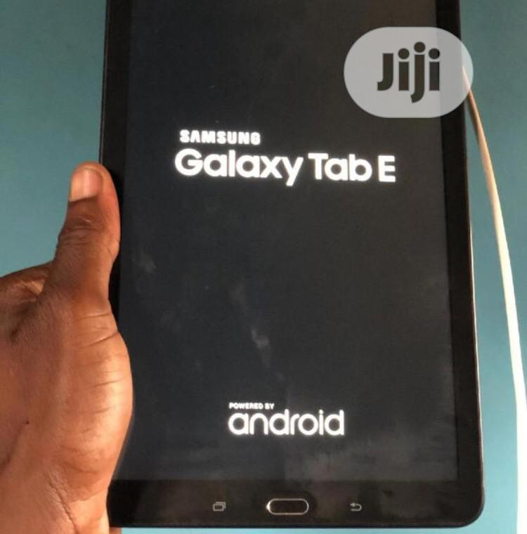 Samsung Galaxy Tab E 8.0 8 GB Black   Tablets for sale in Port-Harcourt, Rivers State, Nigeria
