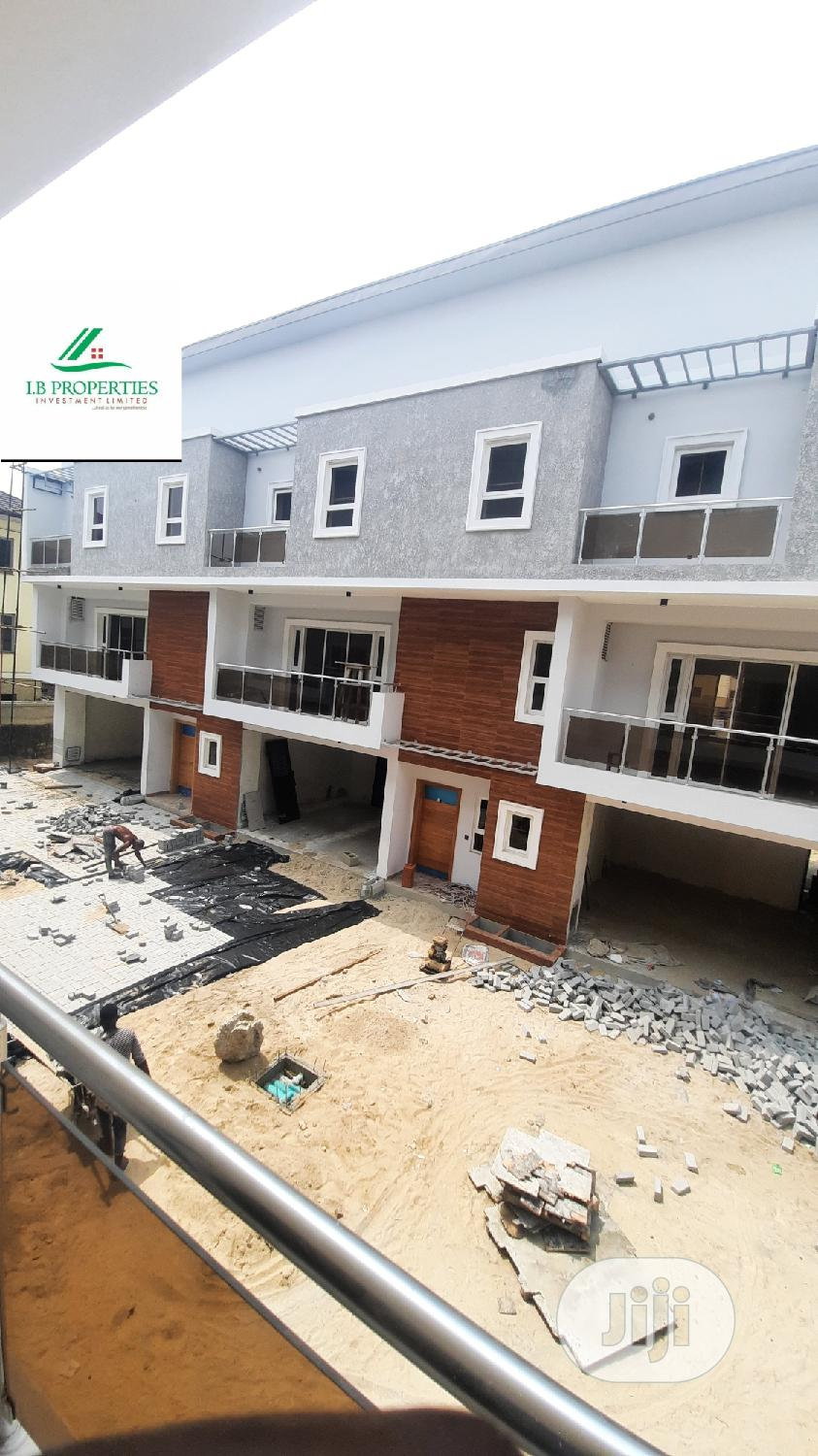 Newly Built 4 Bedroom Terrace Duplex With BQ, Swimming Pool