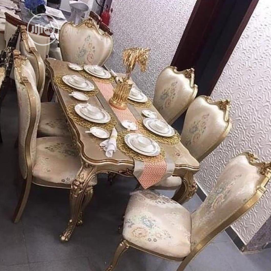 Set of Royal (Wooden ) Dinning Table by 6