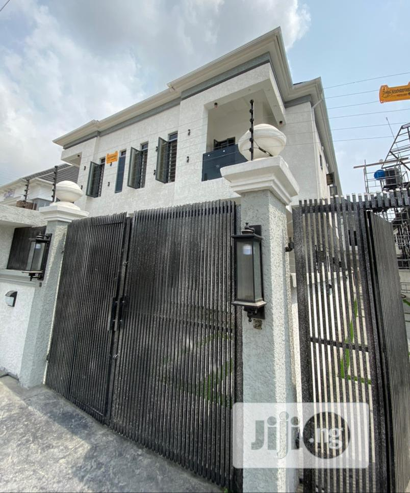 Newly Built 5bedroom Fully Detached Duplex With Bq | Houses & Apartments For Sale for sale in Chevron, Lekki, Nigeria