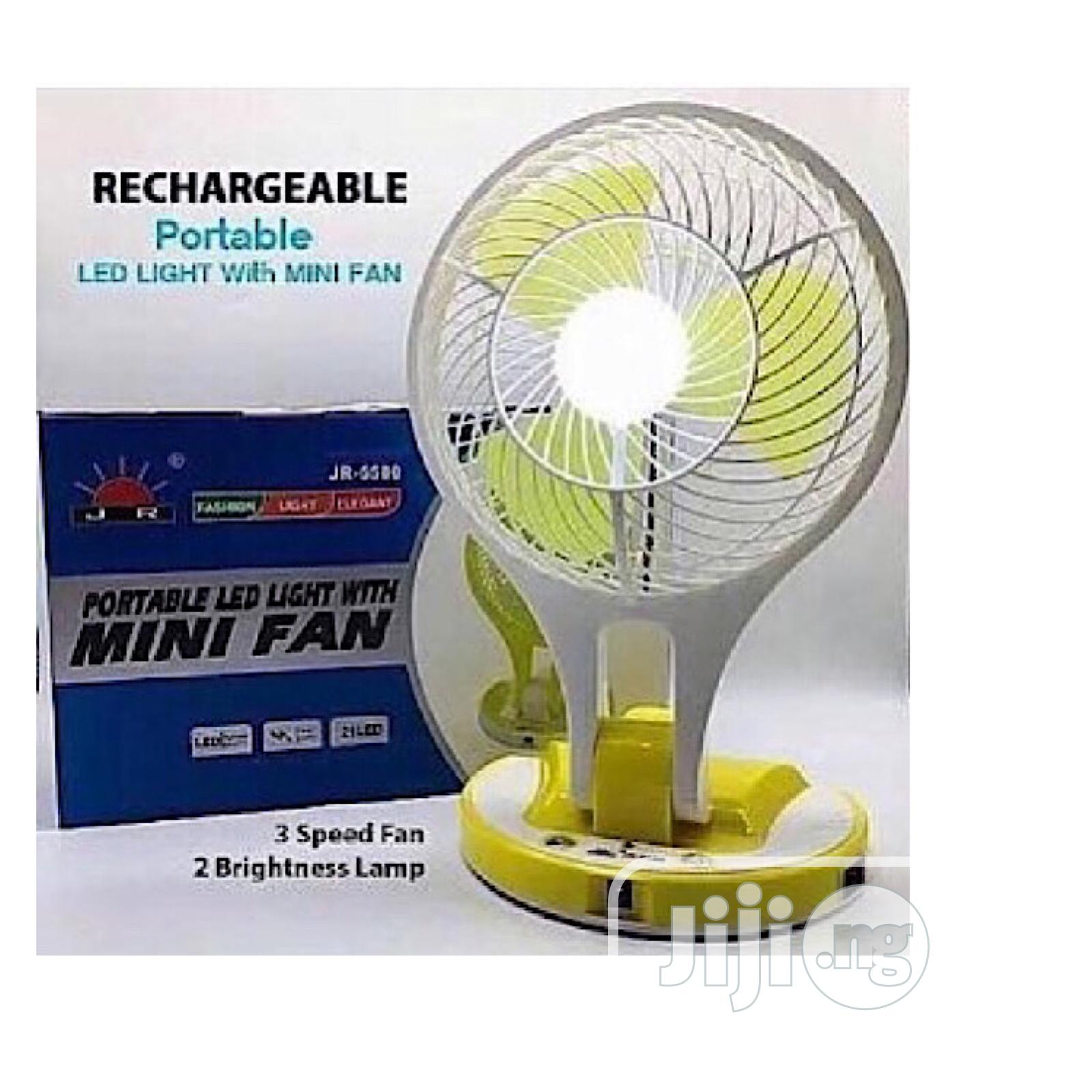 Archive: Quality Mini Rechargeable Fan With Led Light.