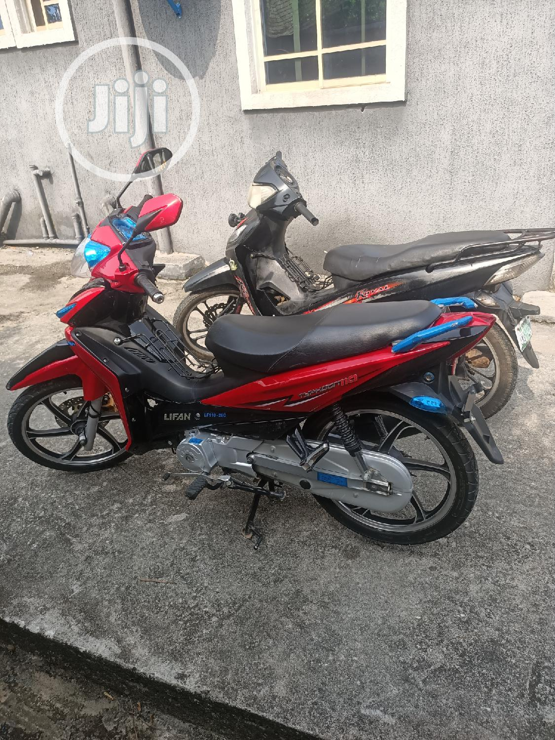 Lifan LF200 2019 Red   Motorcycles & Scooters for sale in Port-Harcourt, Rivers State, Nigeria