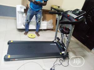 Long Lasting 2hp Treadmill With Massage Machine.Bodyfit   Sports Equipment for sale in Lagos State, Ogba