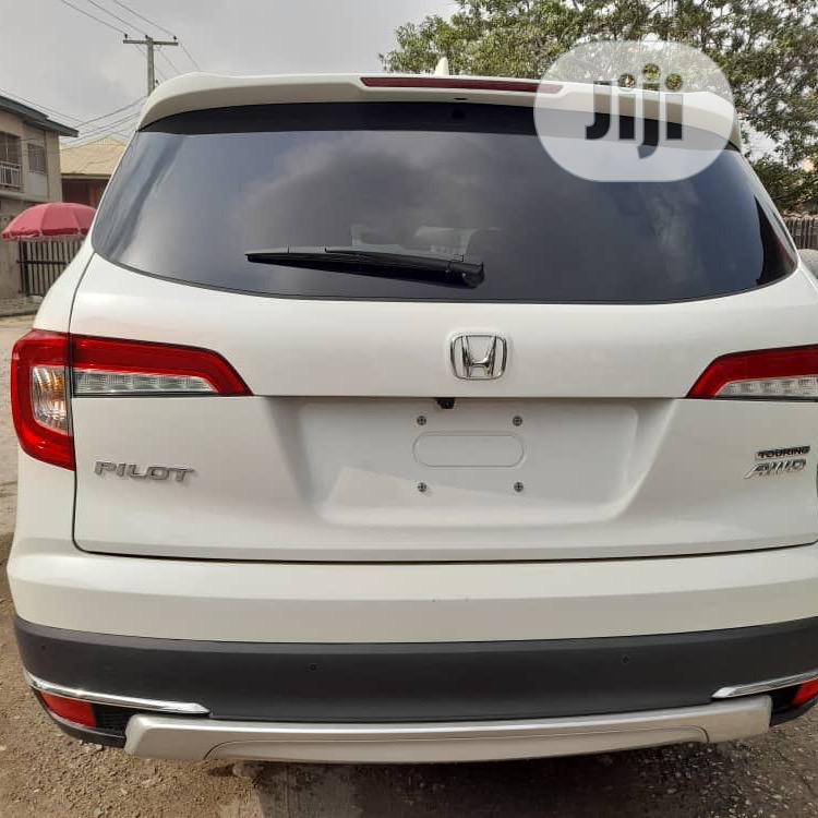 Honda Pilot 2020 Touring 7 Passenger AWD White | Cars for sale in Lekki, Lagos State, Nigeria