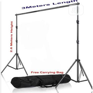 Rry Adjustable Photo 2.6 X 3M Background Stand With Free Bag | Accessories & Supplies for Electronics for sale in Lagos State, Lekki