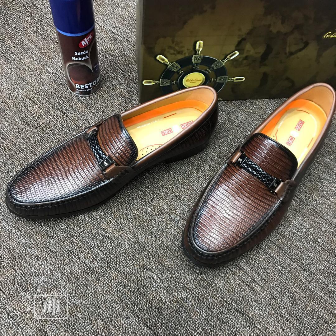 Golden Coxen Shoe