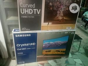 """Brand New 55"""" Samsung Smart Crystal Uhd 4k Hdr Curved Tv   TV & DVD Equipment for sale in Lagos State, Ojo"""