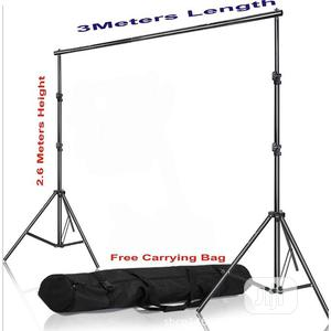Adjustable Photography Background 2.6 X 3M Stand With Bag | Accessories & Supplies for Electronics for sale in Lagos State, Ikoyi