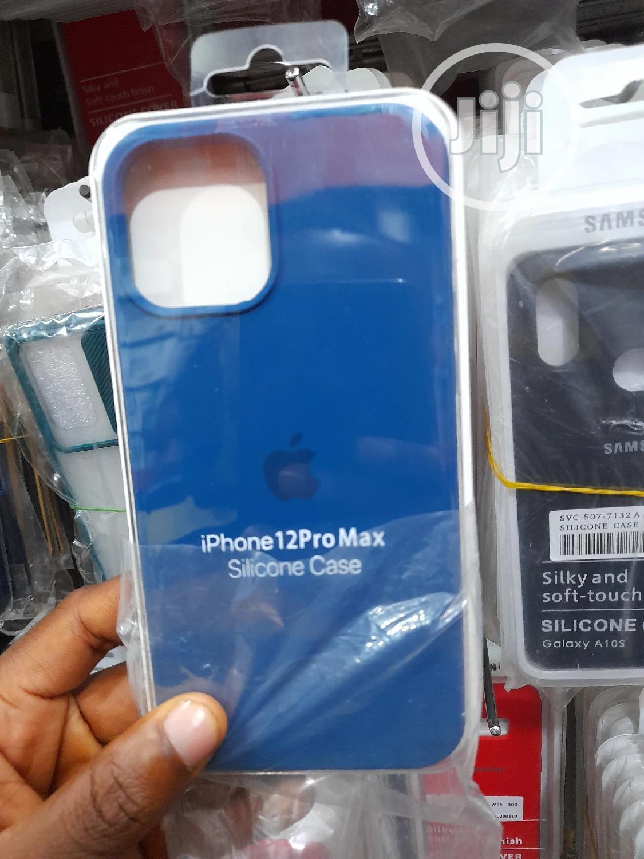 Original Silicone Pouch for iPhone 12 Pro Max
