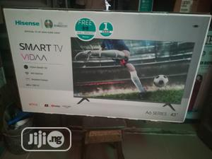 Hisense 43 Inches Smart LED TV 4k UHD   TV & DVD Equipment for sale in Lagos State, Ojo