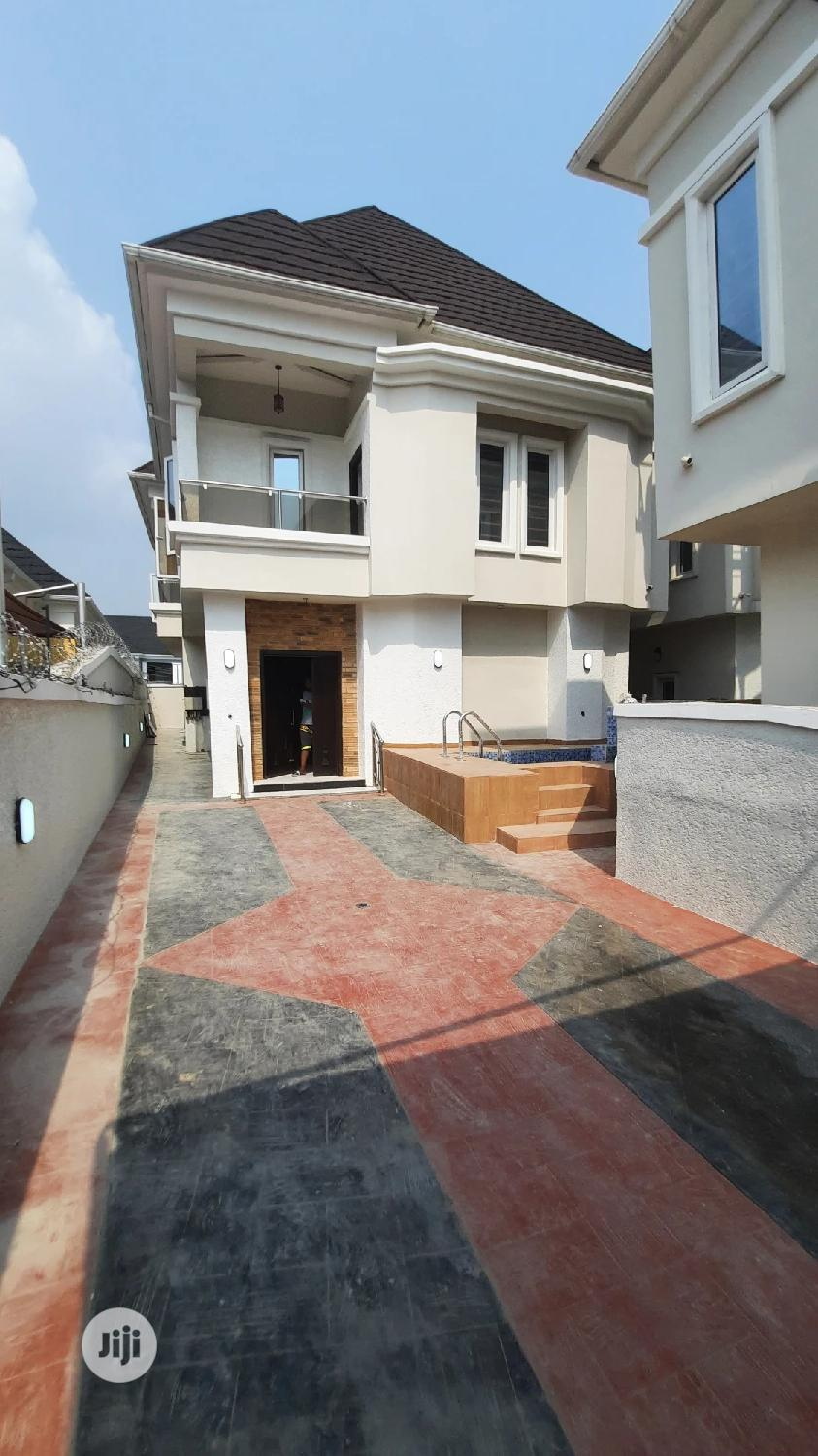 4 Bedroom Detached Duplex With Swimming Pool at Ajah