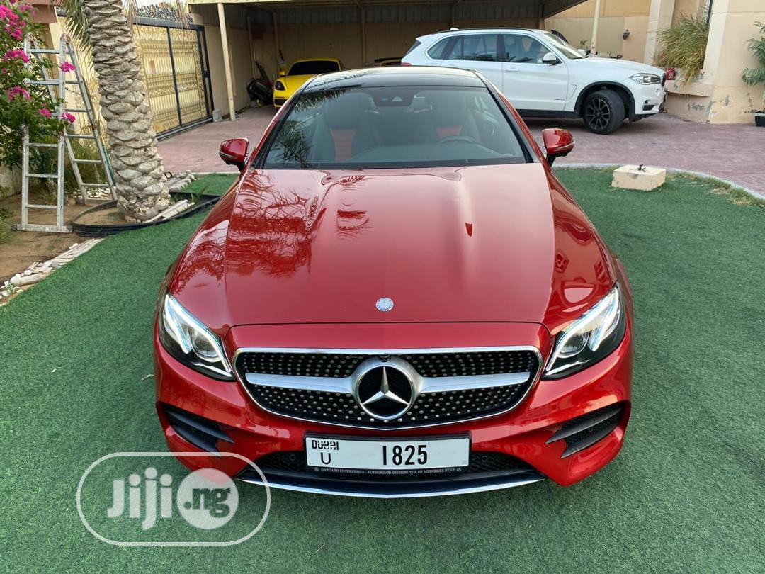 Mercedes-Benz E420 2017 Red