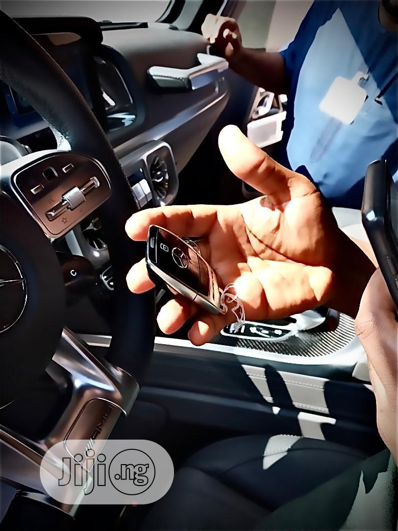Archive: New Mercedes-Benz G-Class 2021 Black