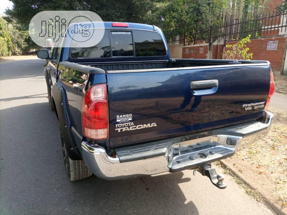 Toyota Tacoma 2007 PreRunner Access Blue | Cars for sale in Garki 2, Abuja (FCT) State, Nigeria
