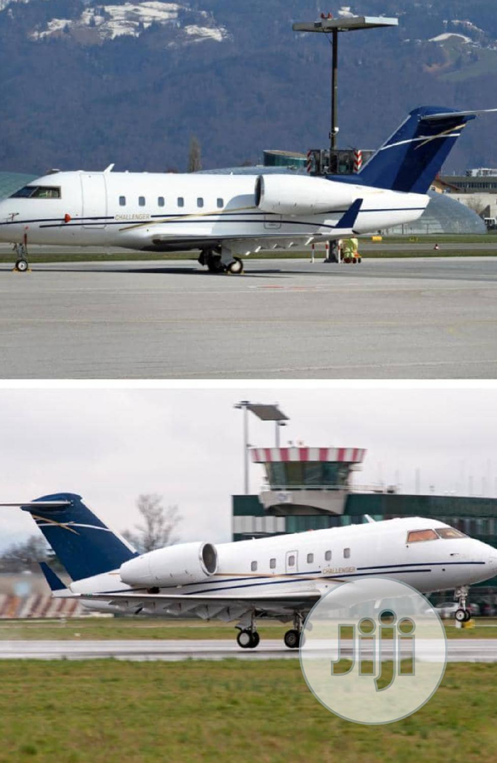 Private Jet Bombardier Challenger 600