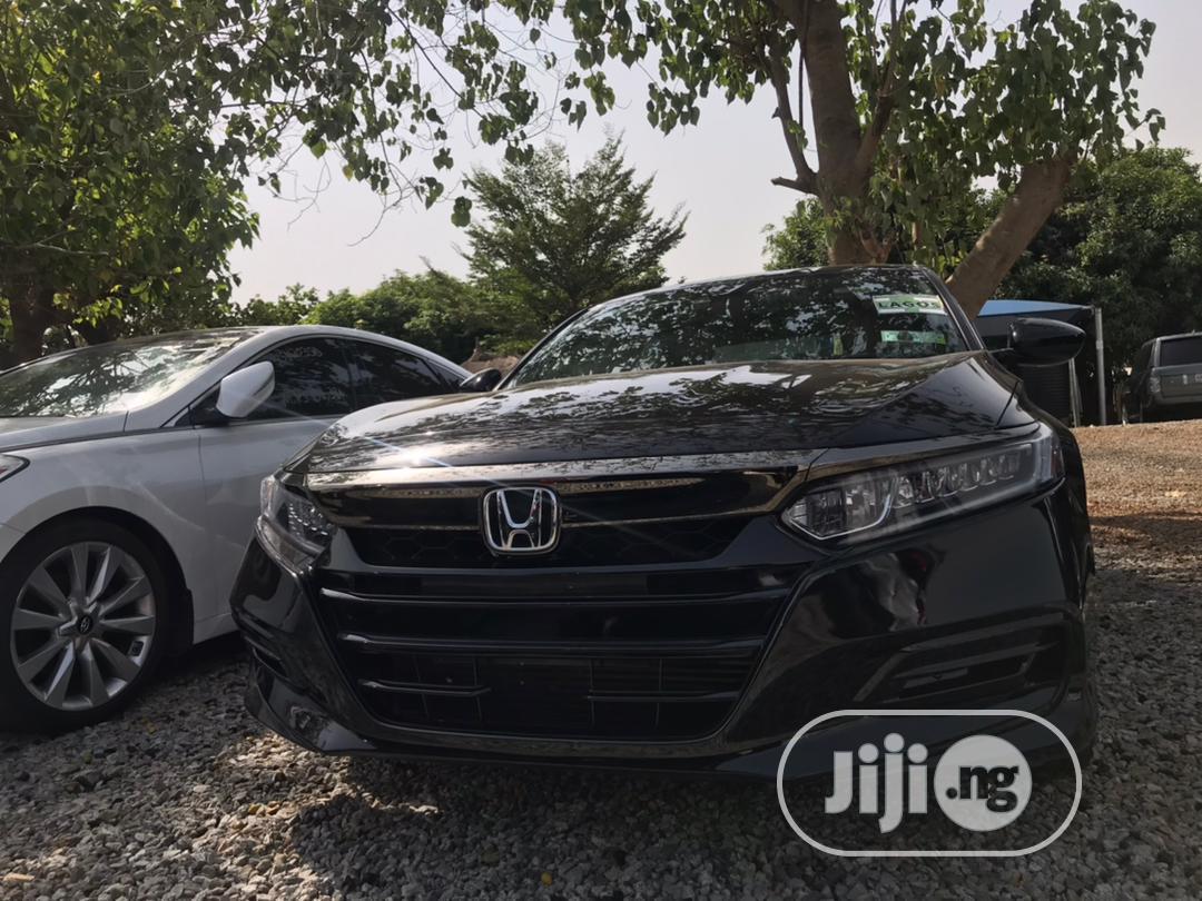 Honda Accord 2018 Black