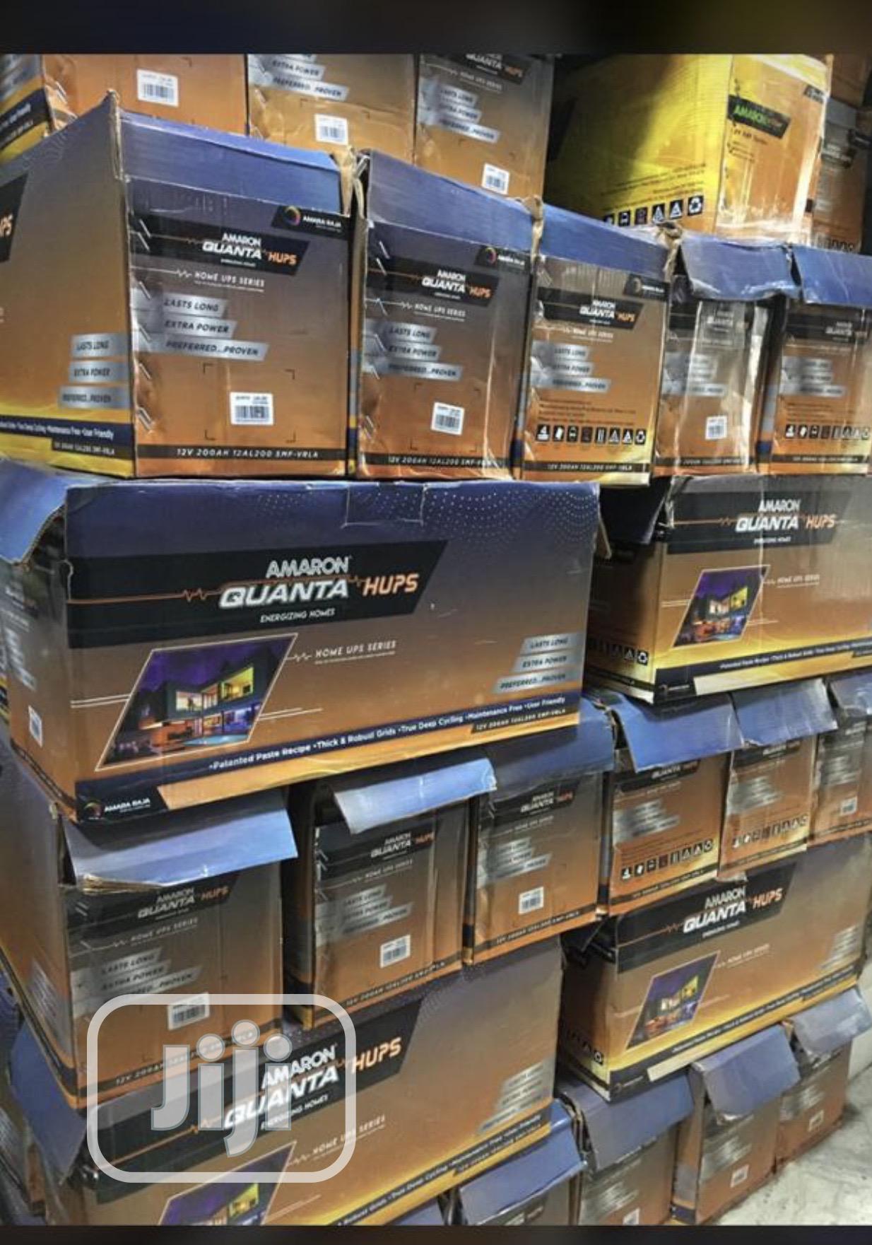 Archive: 12V 200ah Amaron Quanta Battery