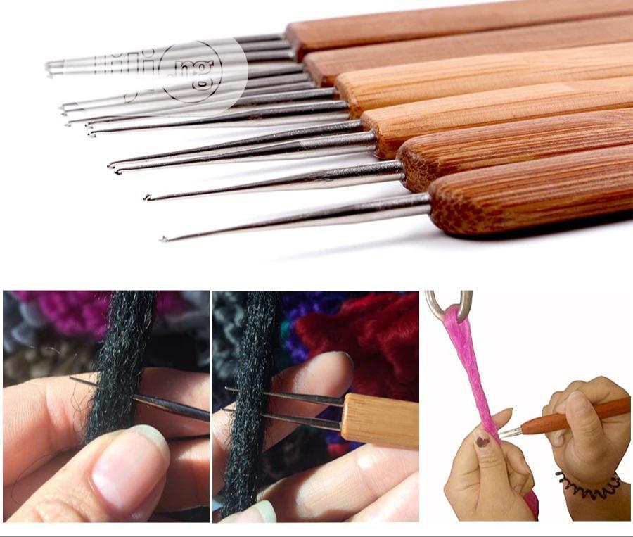 2in1 Dreadlocks Hook Crochet Hook for Dreadlocks Wig Needle | Tools & Accessories for sale in Port-Harcourt, Rivers State, Nigeria