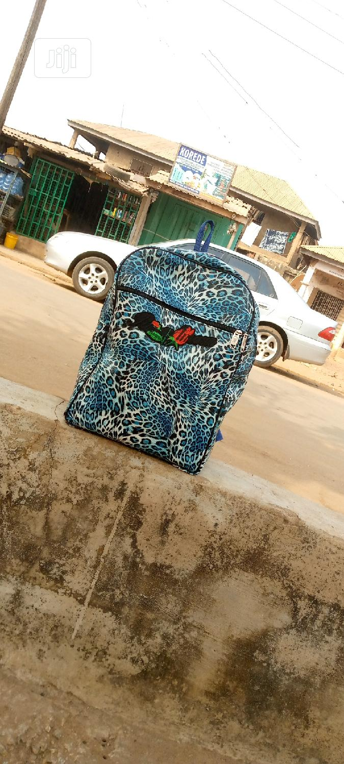 Archive: Big School Bag With Laptops Space in It
