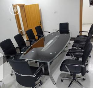 Glass Confrernce Table | Furniture for sale in Lagos State, Amuwo-Odofin
