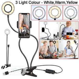 Selfie Ring Light, Cell Phone Holder Stand for Live Stream   Accessories for Mobile Phones & Tablets for sale in Lagos State, Lagos Island (Eko)
