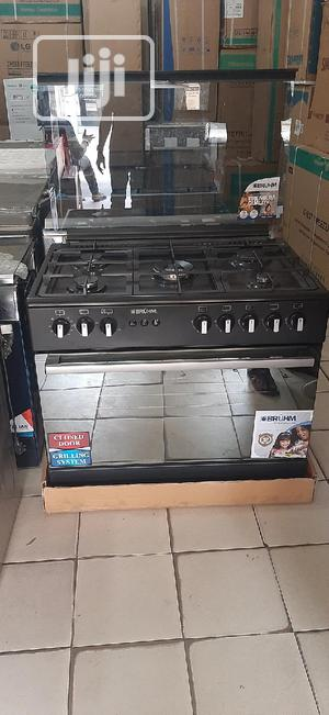 Bruhm Gas Cooker 5 Burners | Kitchen Appliances for sale in Abuja (FCT) State, Wuse